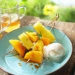 recette ananas caramélisé au cinq épices