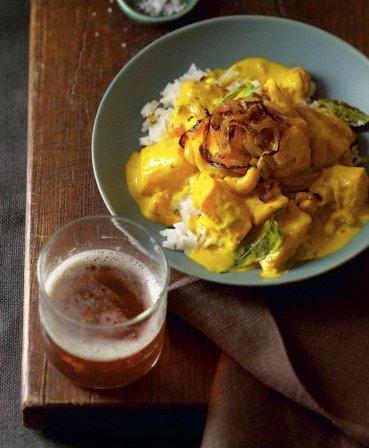 Recette du riz cardamome et colombo de poulet