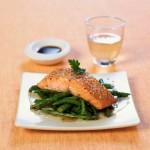 recette du saumon aux graines de lin