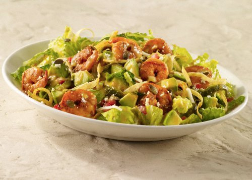 Recette de la salade de gambas au sumac