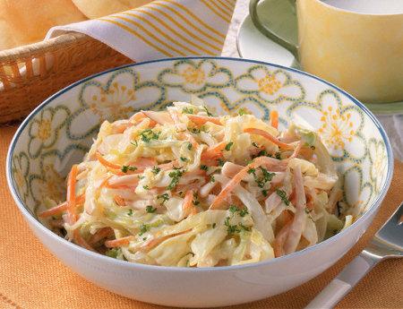 Recette de coleslaw aux épices