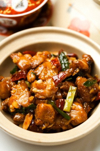 Recette du poulet au coca et épices