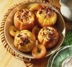 recette pommes farcies au macis