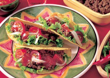 Tacos de boeuf aux épices