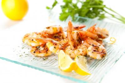 Recette des crevettes grillées aux poivres