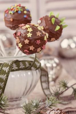 Recette des sucettes au chocolat (épices et fruits secs)