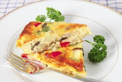 Recette de la tortilla Espagnole aux épices (omelette)