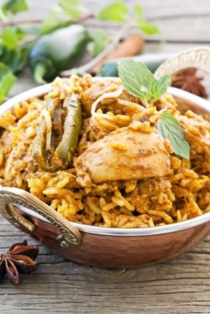Recette du biryani de poulet