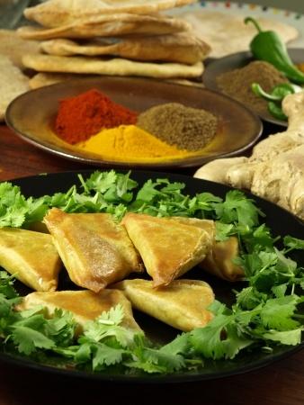 Recette de samoussa de boeuf aux épices