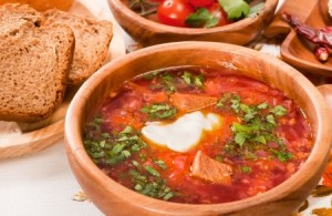 Recette du bortsch Cuisine ukrainienne