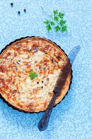 recette tarte au thon epices