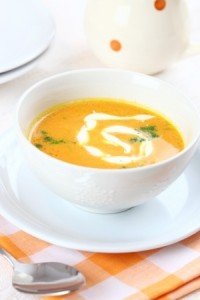 velouté de carottes coco aux epices
