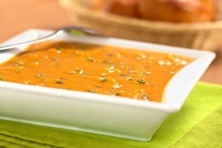 Recette velouté de patates douces aux épices