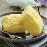 cake au picodon, poires et epices