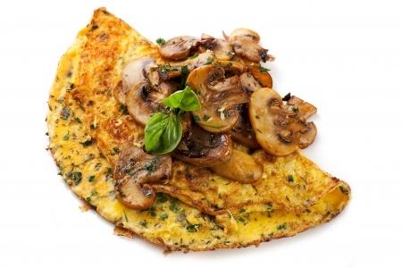 Recette omelette de restes aux épices