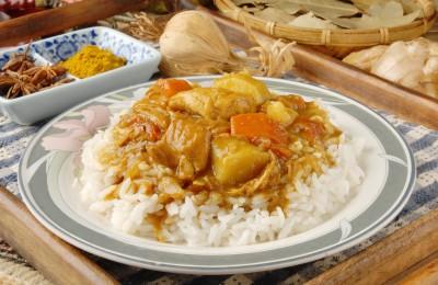 Recette du sauté de dinde au curry madras