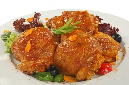 Recette poulet au miel et aux épices
