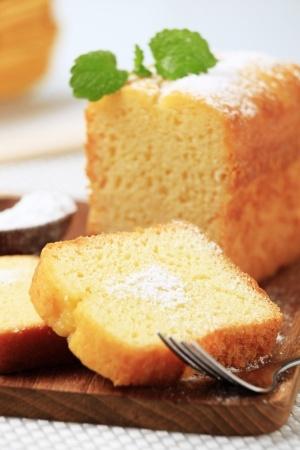 Recette : cake au citron épicé