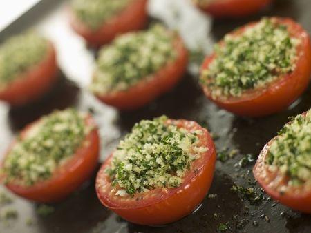 Recette : Tomates provençales à la persillade
