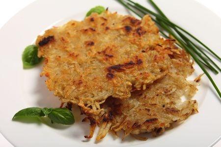 rosti ou roëssti (galettes pommes de terre)