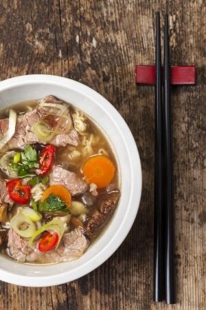 Recette : Phô viêtnamien (Soupe de boeuf aux nouilles de riz)