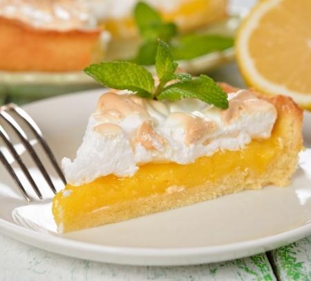 Recette : tarte au citron meringuée et épices