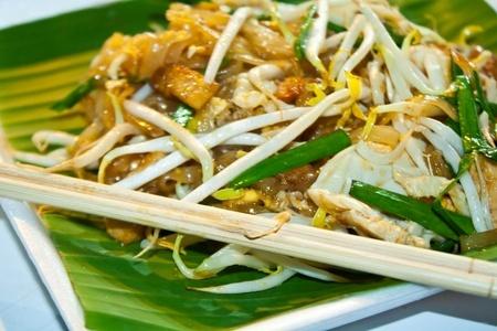 Recette : Pad thaï au poulet (nouilles sautées Thailandaise)