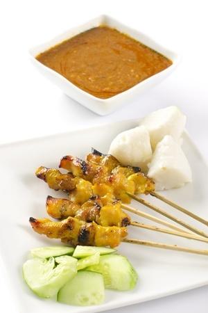 Recette : Brochettes de poulet malaisiennes et sauce satay