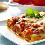 cannelloni boeuf bolognaise epices