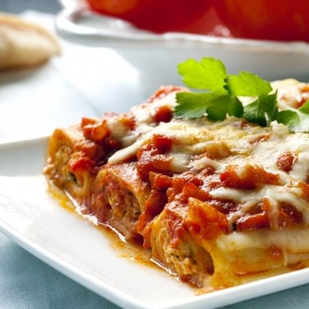 Recette : Cannelloni de boeuf à la bolognaise