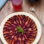 tarte aux prunes miel epices