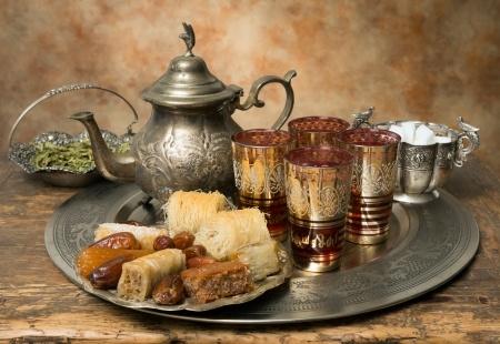 le rituel du thé à la menthe