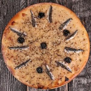 pissaladière niçoise traditionnelle