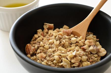 mélange d'épices et fruits secs dukkah