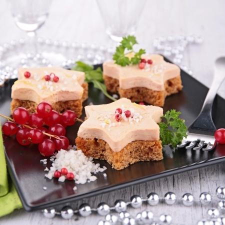 Recette : toasts de foie gras au pain d'épices