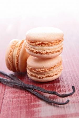 Recette : Macarons aux épices et à la vanille