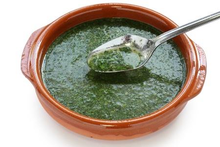 Recette : Molokheya (soupe égyptienne)