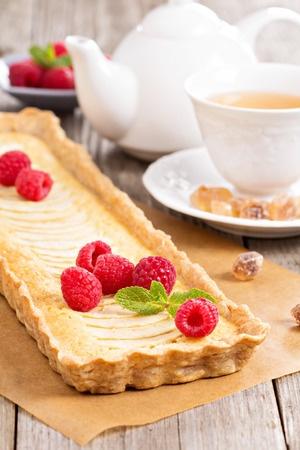 Recette : tarte aux pommes à la frangipane et épices
