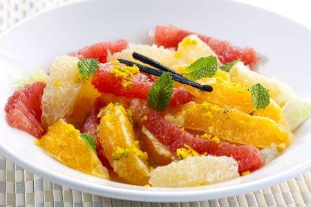 Recette : Salade d'agrumes aux épices