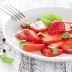 salade de fraise au poivre cubèbe