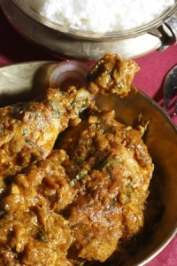 poulet sindhi murgh chicken