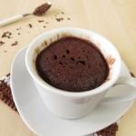 fondant au chocolat mug cake