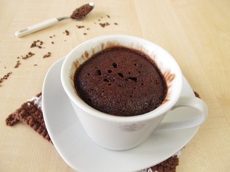 Recette : Mug cake fondant au chocolat !