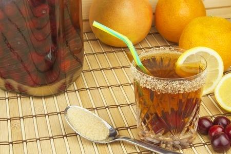 sucre de canne et rhum arrangé