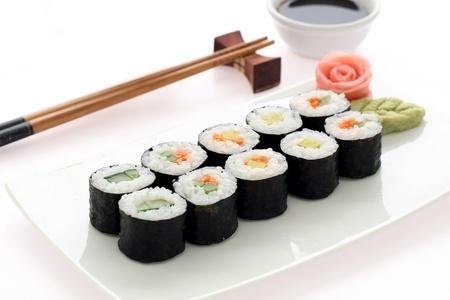 Recette : Sushis et makis saumon au gomasio !