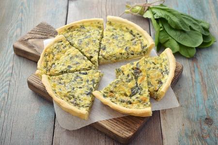 Recette : tarte aux épinards et gomasio !