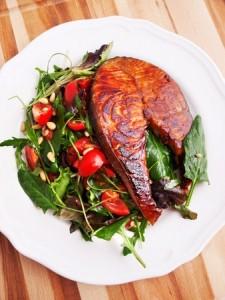 saumon mariné poivre timut