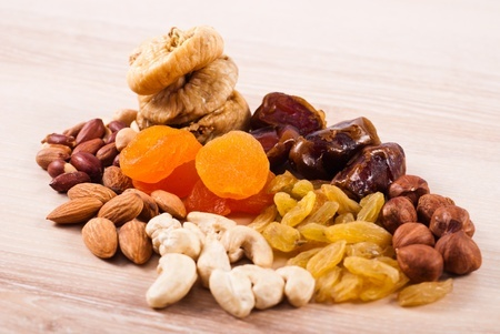 différence fruits secs et fruits séchés