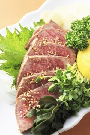 Recette : tataki de boeuf au poivre Sansho