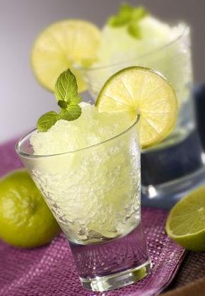 Recette : granités au citron et gingembre !